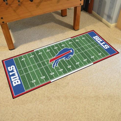 Buffalo Bills Football Field Runner Rug