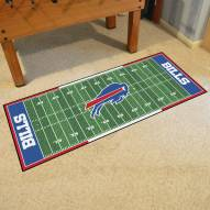 Buffalo Bills Football Field Runner Rug