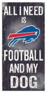 Buffalo Bills Football & My Dog Sign