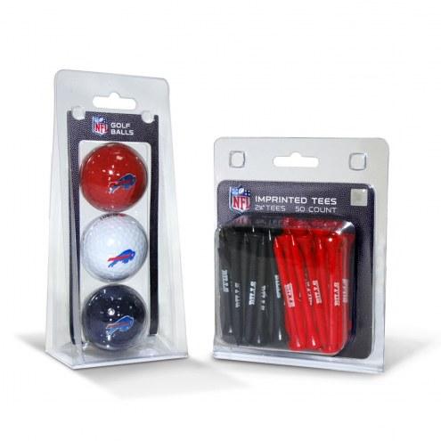 Buffalo Bills Golf Ball & Tee Pack