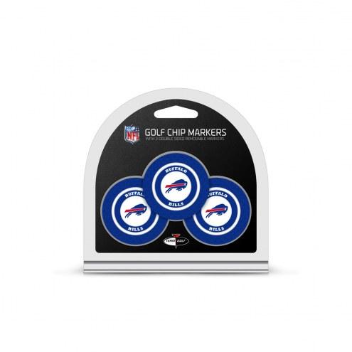 Buffalo Bills Golf Chip Ball Markers