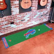 Buffalo Bills Golf Putting Green Mat