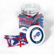 Buffalo Bills 175 Golf Tee Jar