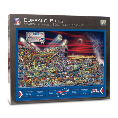Buffalo Bills Joe Journeyman Puzzle