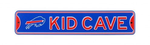 Buffalo Bills Kid Cave Street Sign