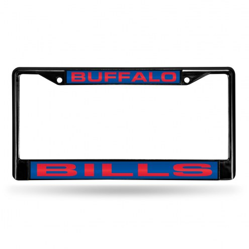 Buffalo Bills Laser Black License Plate Frame