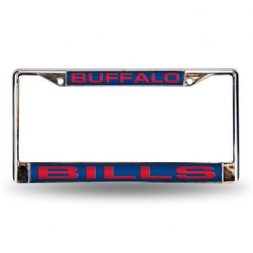 Buffalo Bills Laser Chrome License Plate Frame