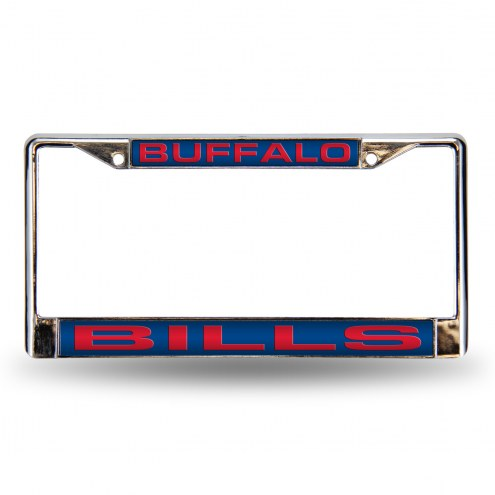 Buffalo Bills Laser Chrome License Plate Frame