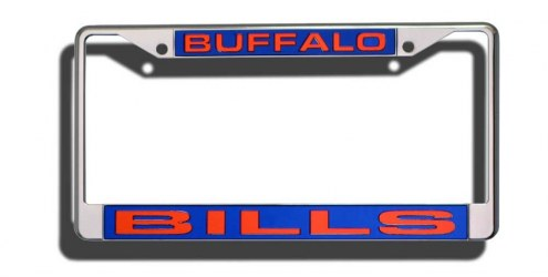 Buffalo Bills Laser Cut License Plate Frame