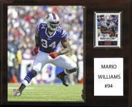 "Buffalo Bills Mario Williams 12"" x 15"" Player Plaque"