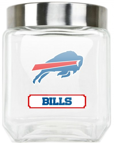Buffalo Bills Medium Glass Canister