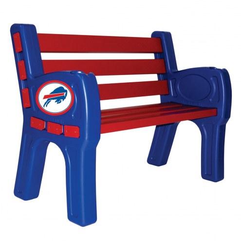 Buffalo Bills Park Bench