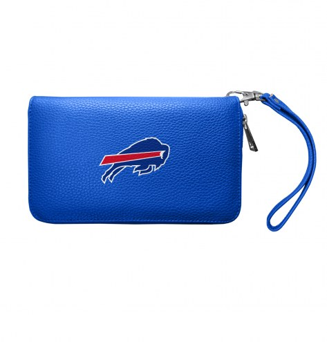 Buffalo Bills Pebble Organizer Wallet
