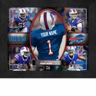 Buffalo Bills Personalized 11 x 14 Framed Action Collage