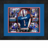 Buffalo Bills Personalized 13 x 16 Framed Action Collage