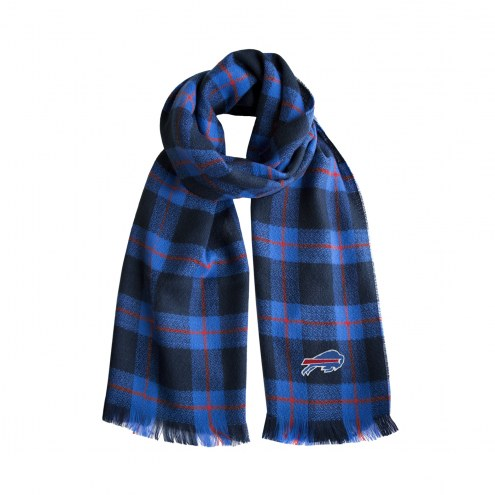Buffalo Bills Plaid Blanket Scarf