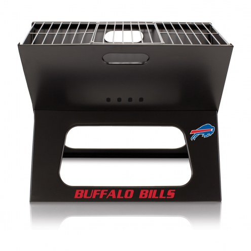 Buffalo Bills Portable Charcoal X-Grill