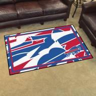 Buffalo Bills Quicksnap 4' x 6' Area Rug