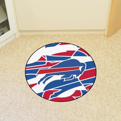 Buffalo Bills Quicksnap Rounded Mat