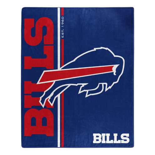 Buffalo Bills Restructure Raschel Blanket