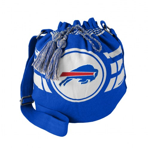 Buffalo Bills Ripple Drawstring Bucket Bag