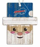 Buffalo Bills Santa Ornament