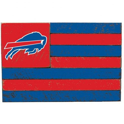 Buffalo Bills Small Flag Wall Art