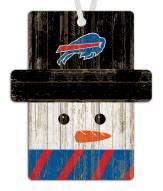 Buffalo Bills Snowman Ornament