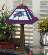 Buffalo Bills Stained Glass Mission Table Lamp
