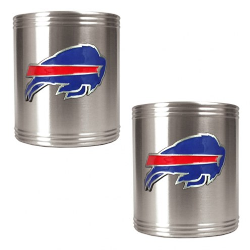 Buffalo Bills Stainless Steel Can Coozie Set