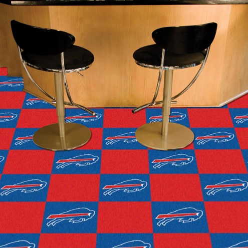 Buffalo Bills Team Carpet Tiles