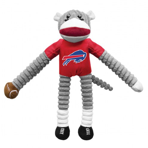 Buffalo Bills Team Sock Monkey Pet Toy