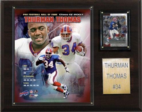 "Buffalo Bills Thurman Thomas 12 x 15"" Player Plaque"