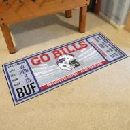 Buffalo Bills Ticket Runner Rug