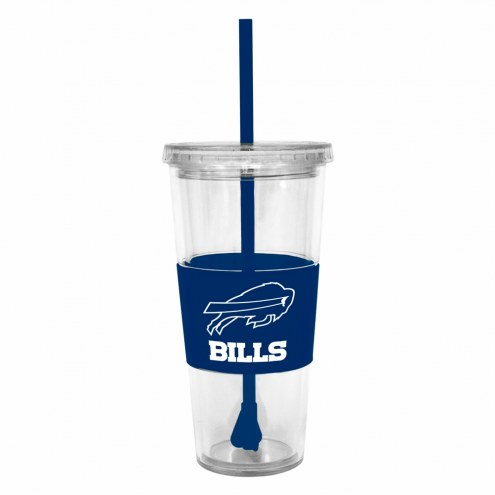 Buffalo Bills Tumbler with Straw