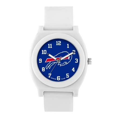 Buffalo Bills Unisex Fan White Watch