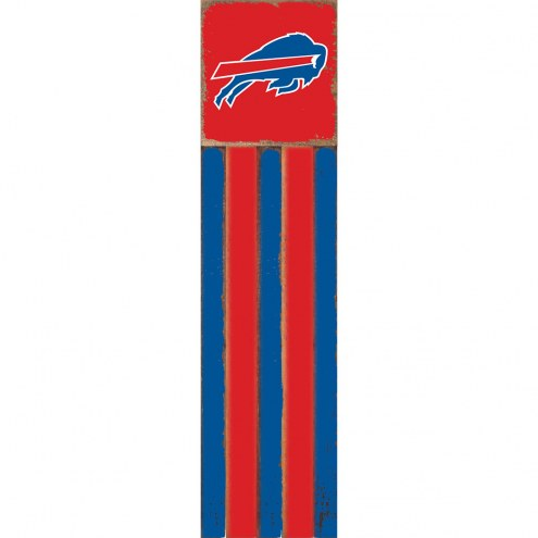 Buffalo Bills Vertical Flag Wall Sign
