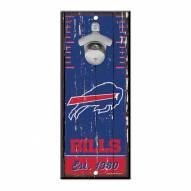 Buffalo Bills Wood Bottle Opener