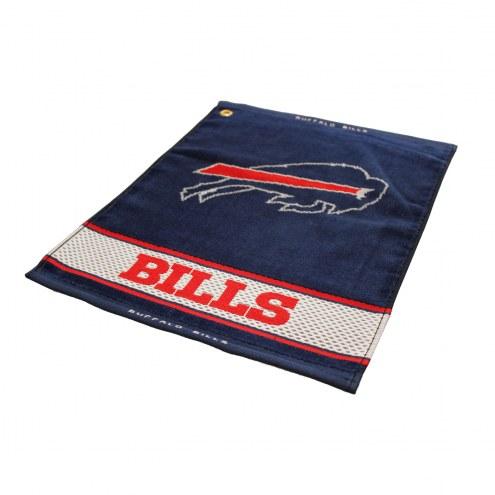 Buffalo Bills Woven Golf Towel