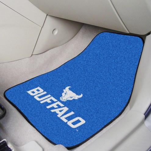 Buffalo Bulls 2-Piece Carpet Car Mats