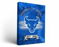 Buffalo Bulls Banner Canvas Wall Art