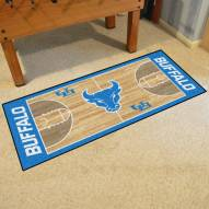 Buffalo Bulls Basketball Court Runner Rug