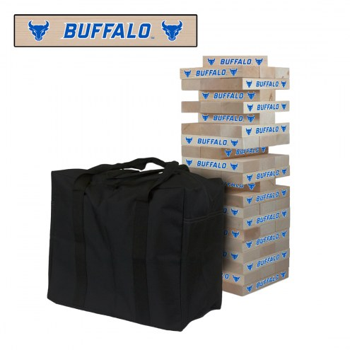 Buffalo Bulls Giant Wooden Tumble Tower Game