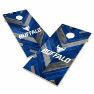 Buffalo Bulls Herringbone Cornhole Game Set