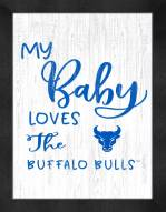 Buffalo Bulls My Baby Loves Framed Print