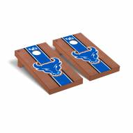 Buffalo Bulls Rosewood Stained Cornhole Game Set