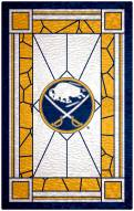"Buffalo Sabres  11"" x 19"" Stained Glass Sign"