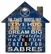 "Buffalo Sabres 12"" House Sign"