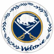 "Buffalo Sabres  12"" Welcome Circle Sign"