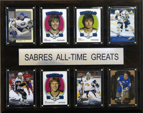 "Buffalo Sabres 12"" x 15"" All-Time Greats Plaque"